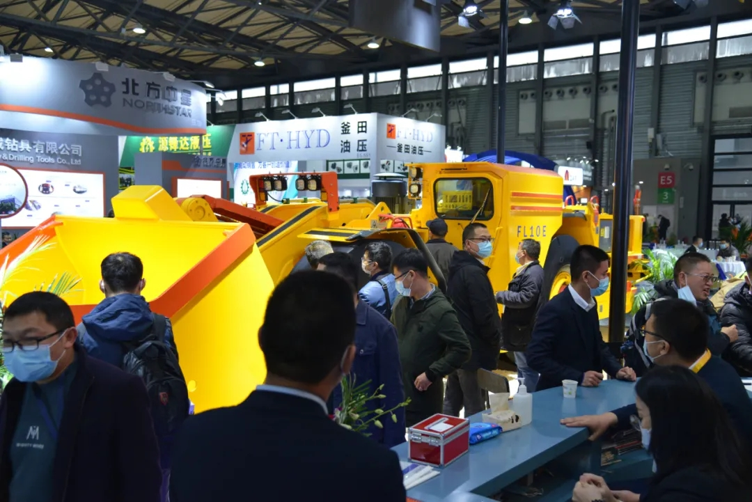 Նախադիտում Fambition Heavy Machinery Shanghai Bauma Show- ից առաջ